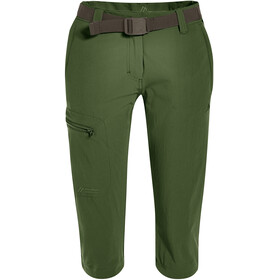Maier Sports Inara Slim korte broek Dames, bronze green
